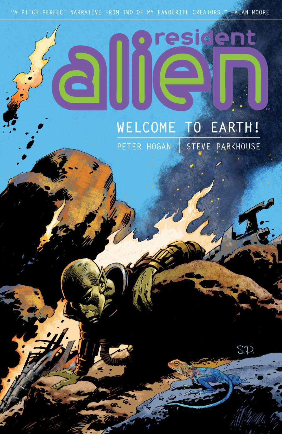 From A Library – Resident Alien: Welcome To Earth!