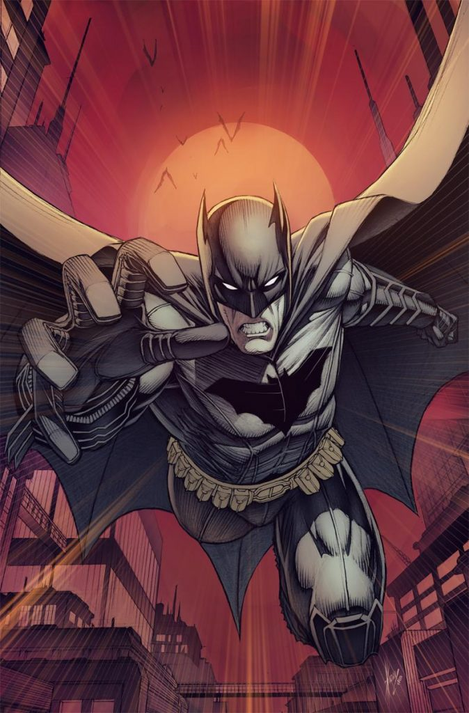 Batman variant cover by Dale Keown