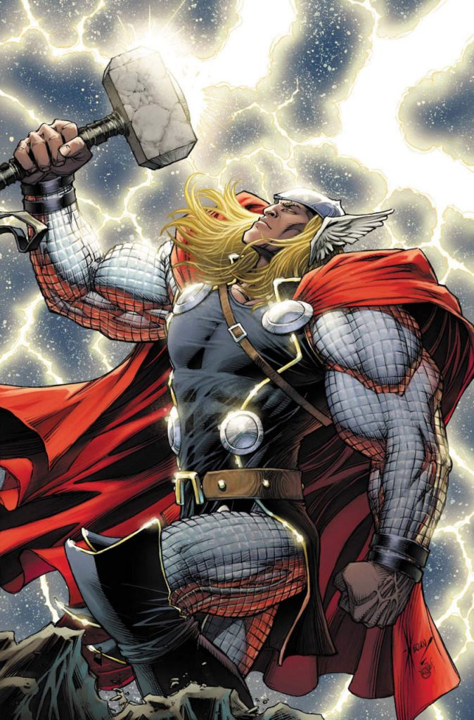 Mighty Thor #11 variant cover by Dale Keown
