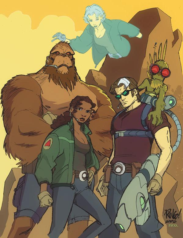 The Perhapanauts by Mike Wieringo
