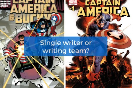Are comic books better with a single writer or a writing team?