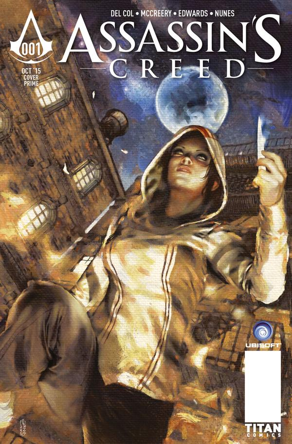 Assassins Creed #1 cover