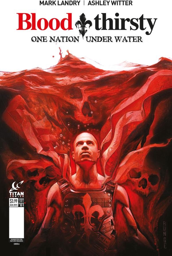 Bloodthirsty #1 cover