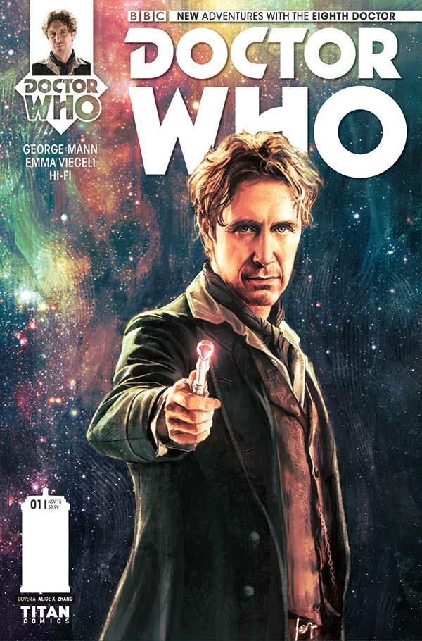 Comic Book Review – Doctor Who: The Eighth Doctor #1