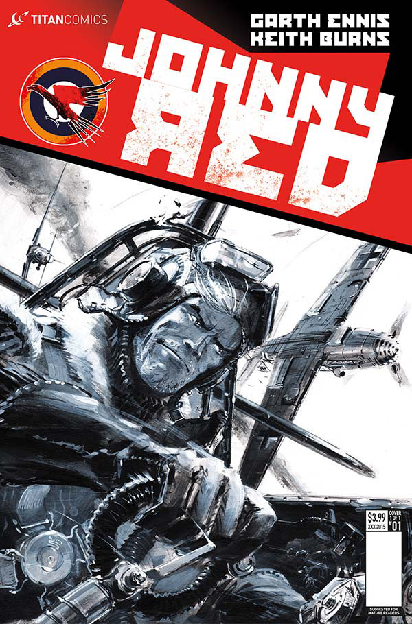 Read more about the article Comic Book Review: Johnny Red #1