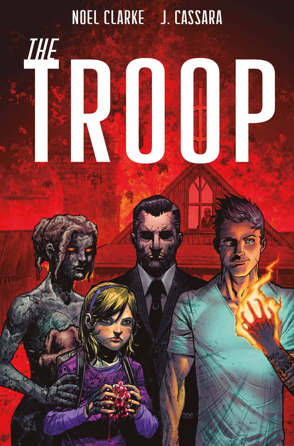 Read more about the article Comic Book Review: The Troop #1