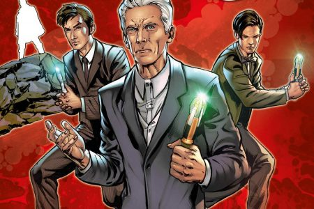 Comic Book Review – Doctor Who: Four Doctors