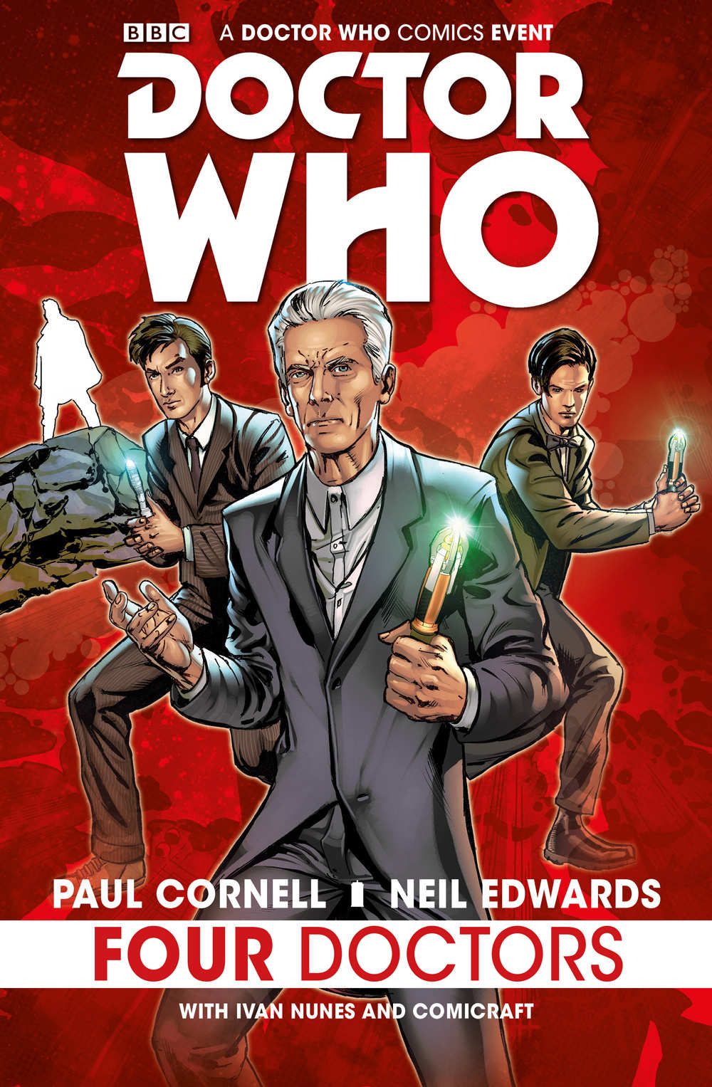 Read more about the article Comic Book Review – Doctor Who: Four Doctors