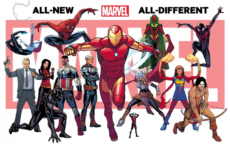 All-New, All-Different Marvel teaser