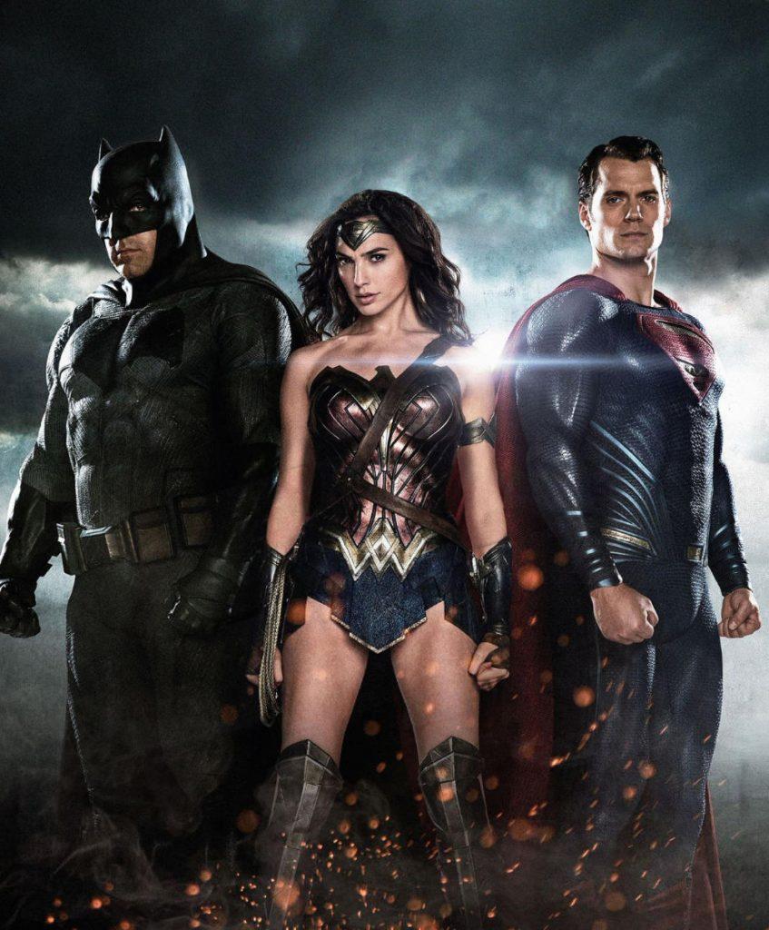 Batman, Wonder Woman and Superman