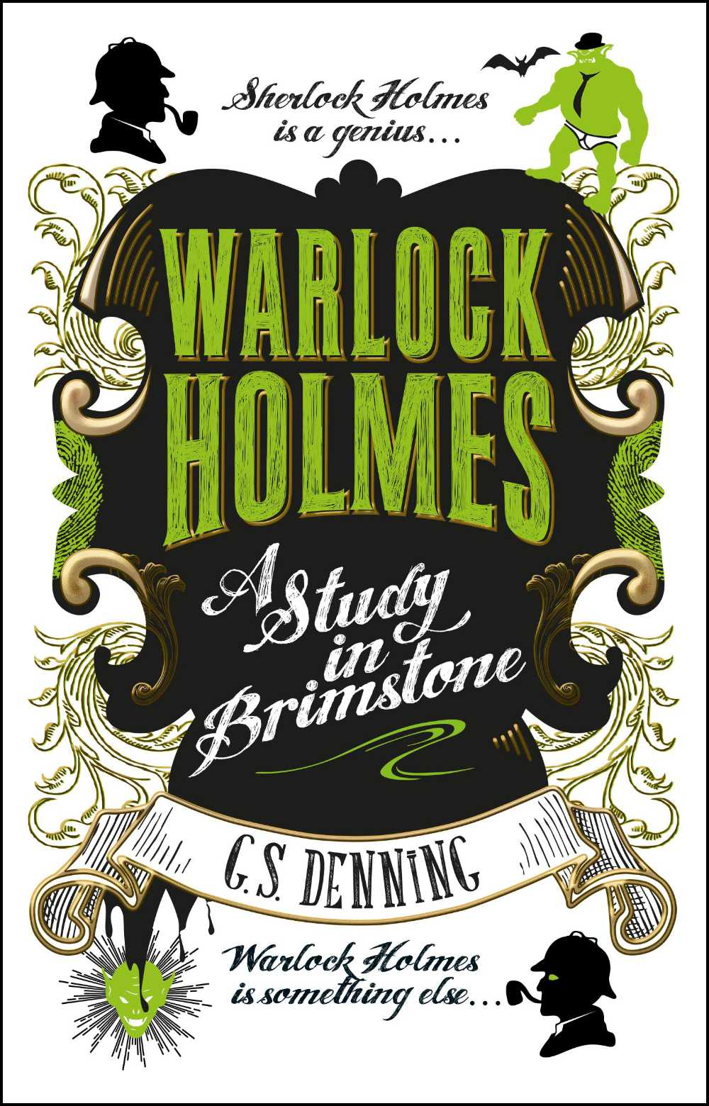 Read more about the article Book Review – Warlock Holmes: A Study In Brimstone