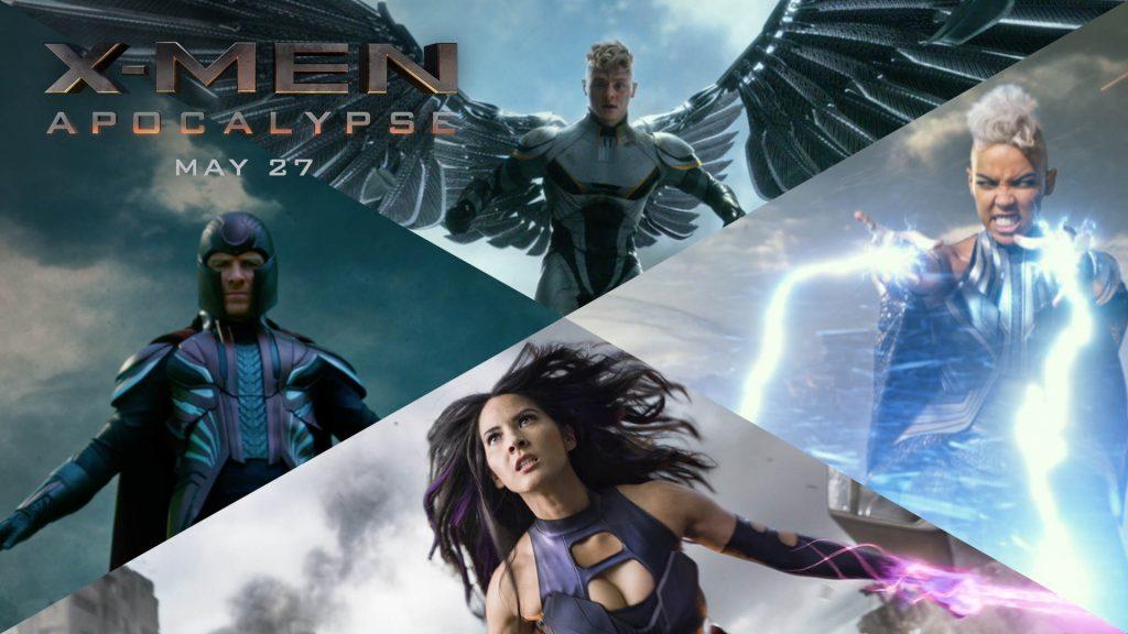 X-Men: Apocalypse Four Horsemen