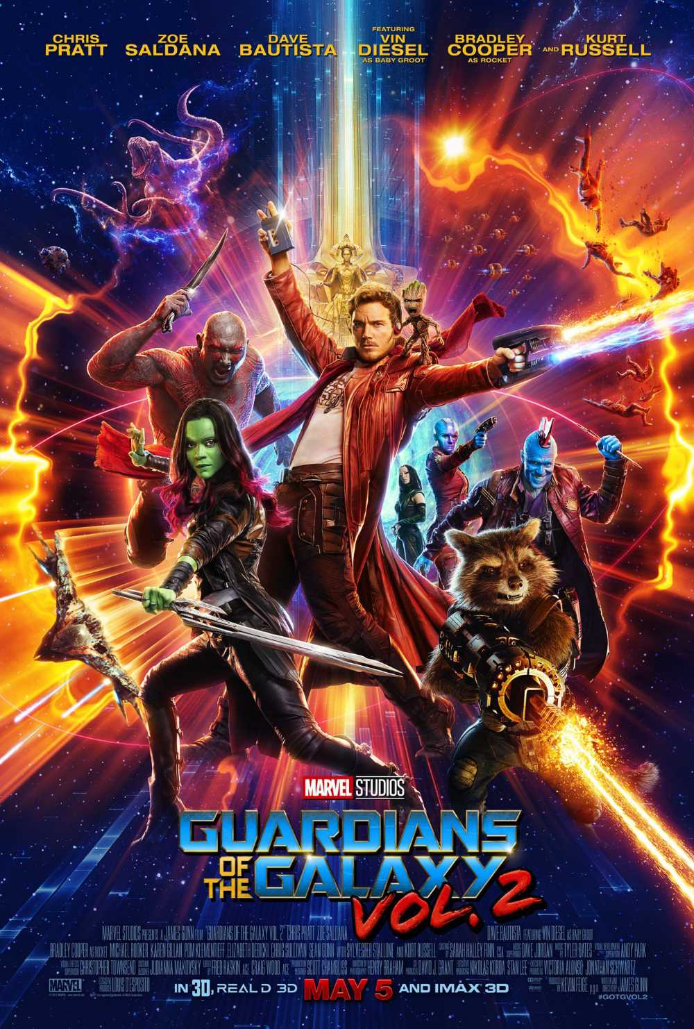 You are currently viewing Notes On A Film: Guardians Of The Galaxy Vol. 2