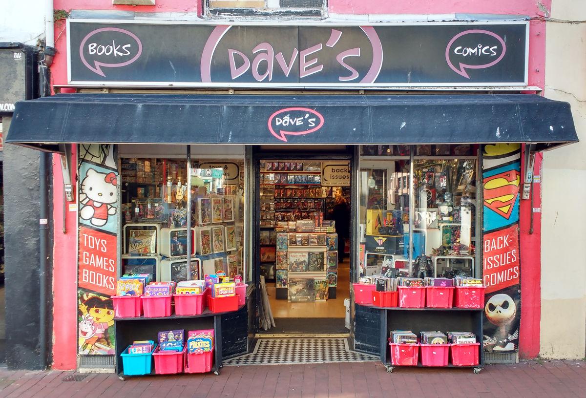 Dave's Comics shop