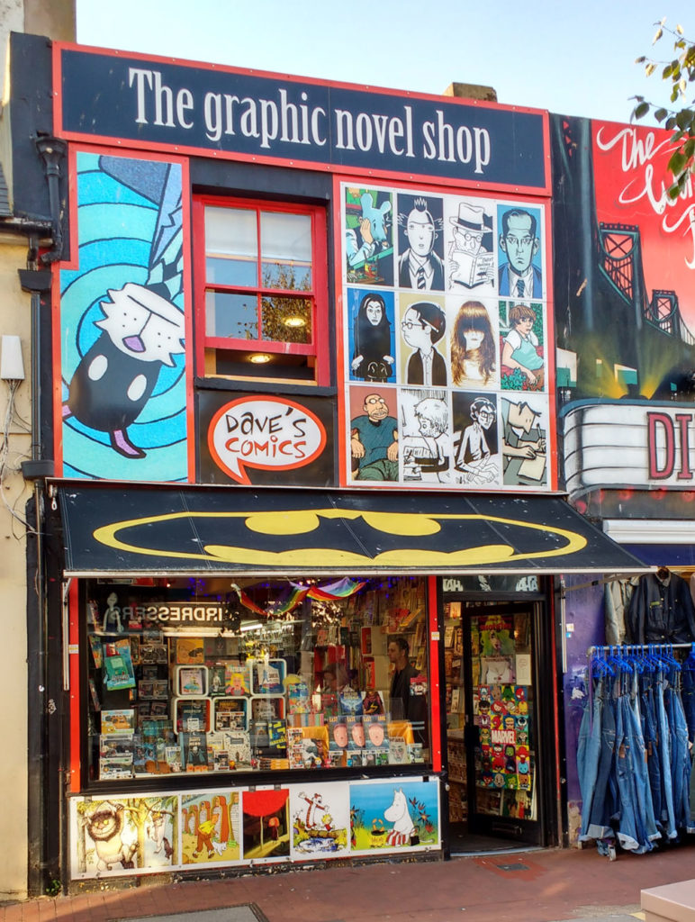 Dave's Comics (Books) shop front