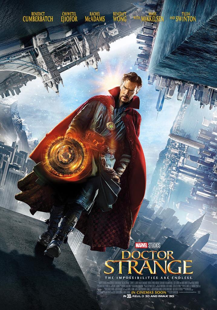 Image of Doctor Strange movie poster