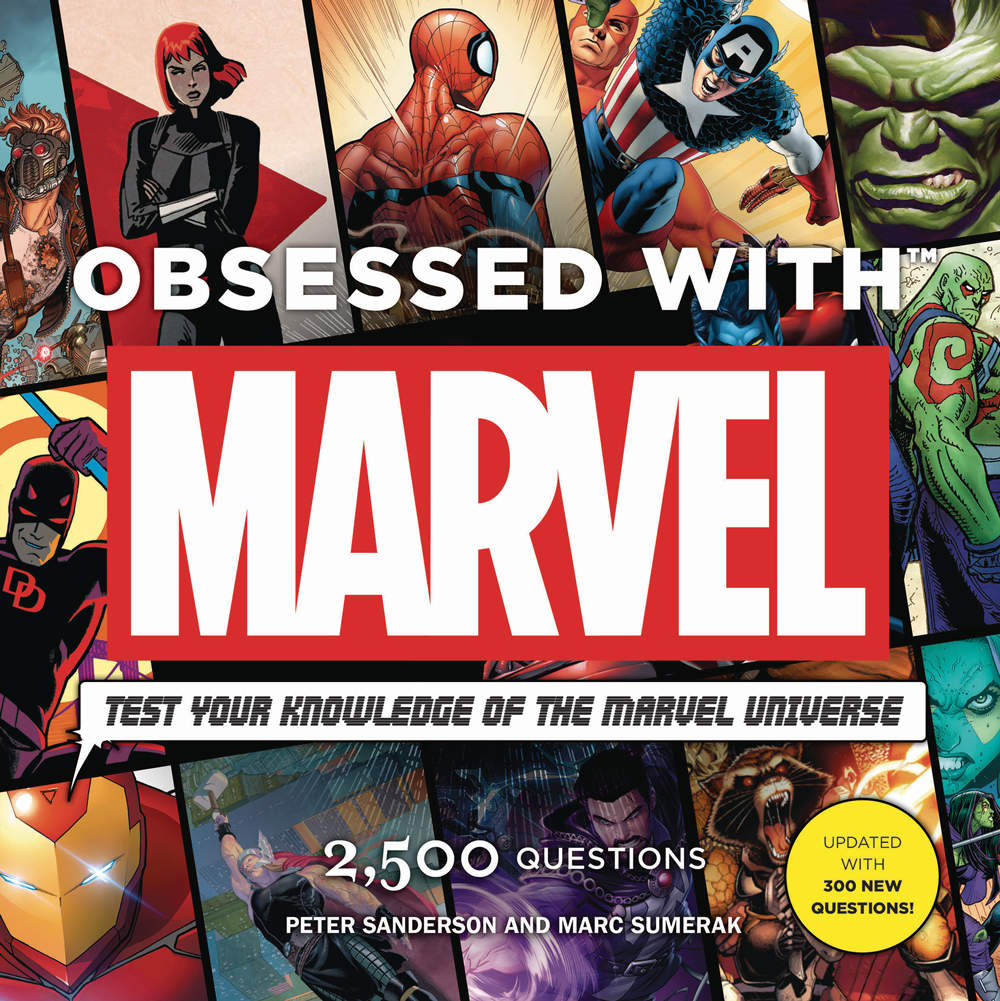 Read more about the article Book Review: Obsessed With Marvel