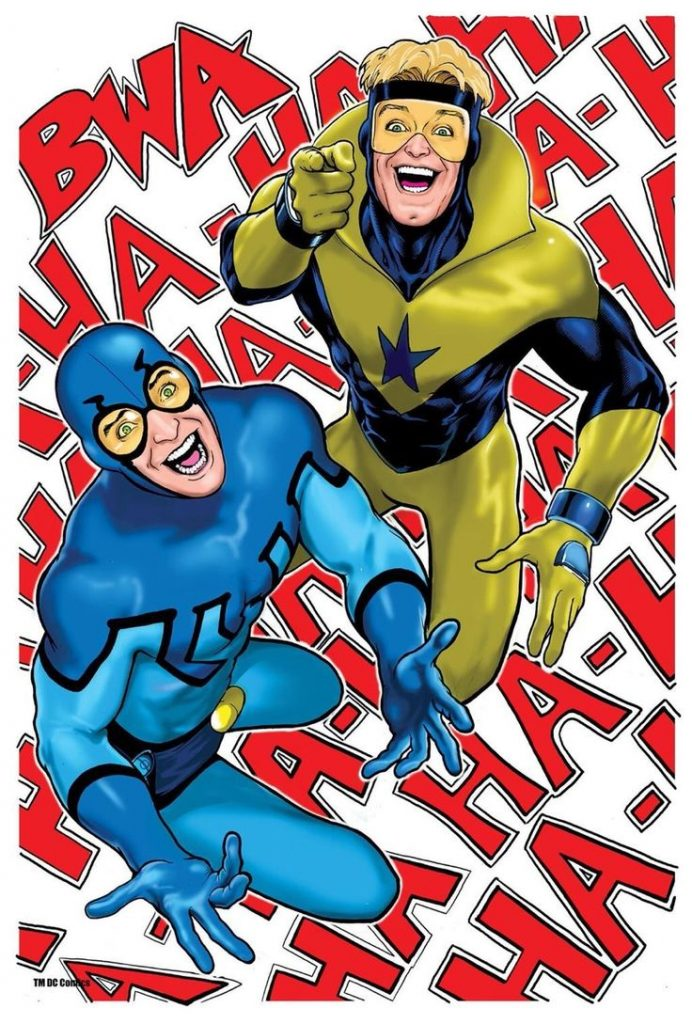 Blue And Gold by Kevin Maguire