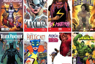 Diverse comic book covers part 1