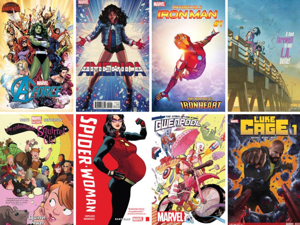 Diverse comic book covers part 2
