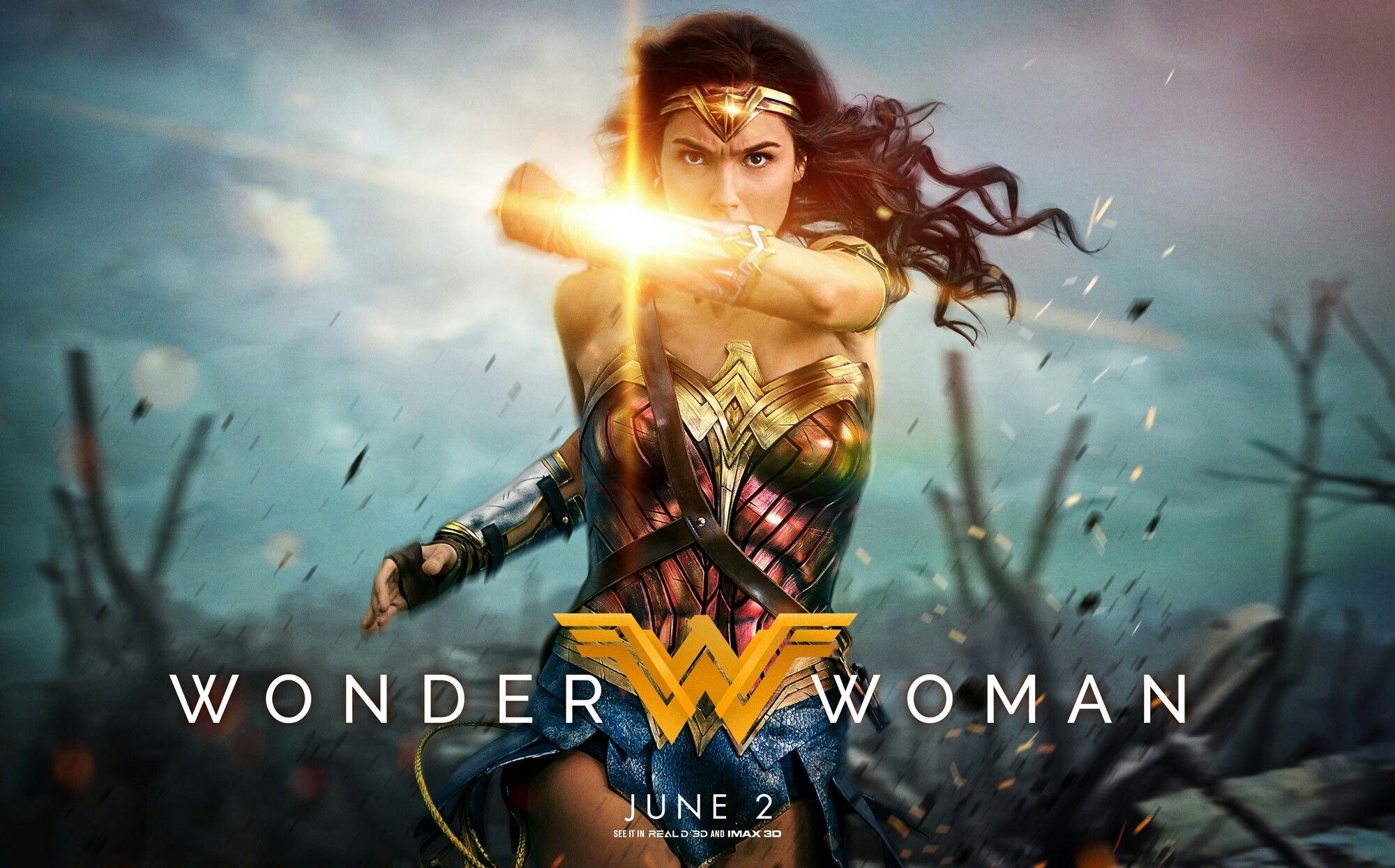 Catch-up Notes On A Film: Wonder Woman