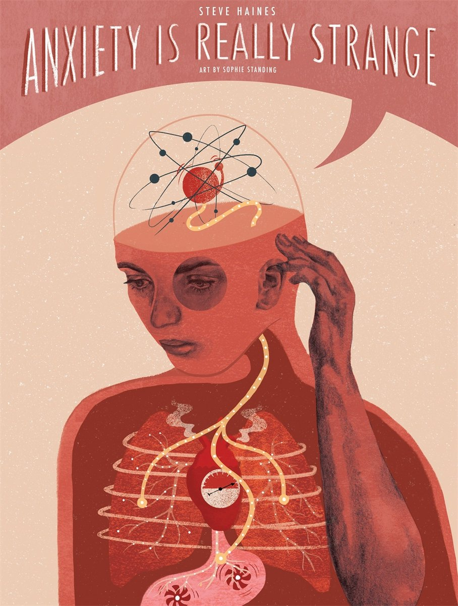 You are currently viewing Book Review: Anxiety Is Really Strange