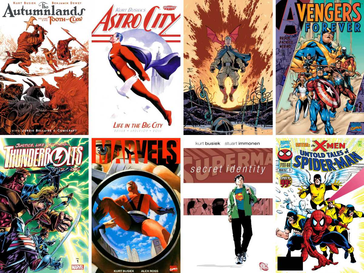 You are currently viewing Writer Top Five: Kurt Busiek
