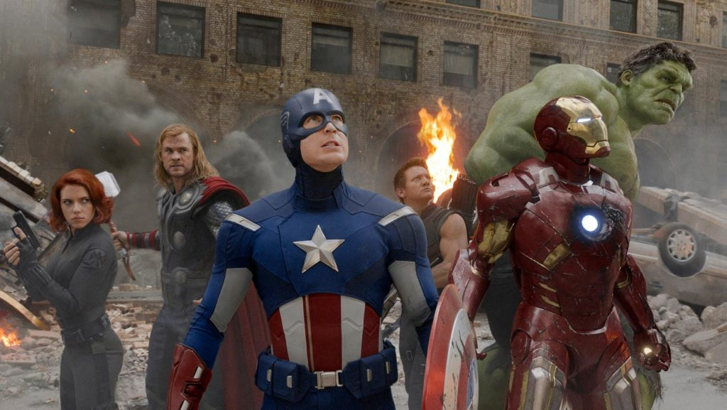 Still from The Avengers that makes me giddy with joy