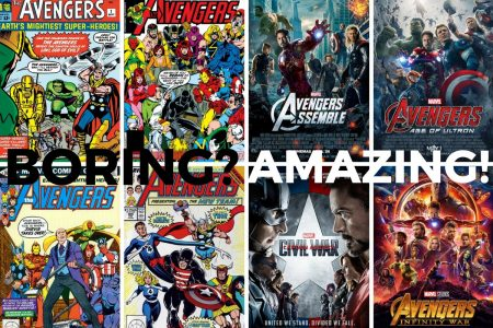 Heresy: Avengers Comic Books Were Boring