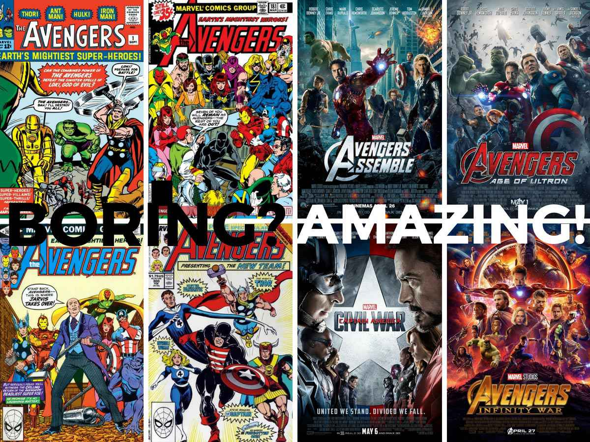 You are currently viewing Heresy: Avengers Comic Books Were Boring