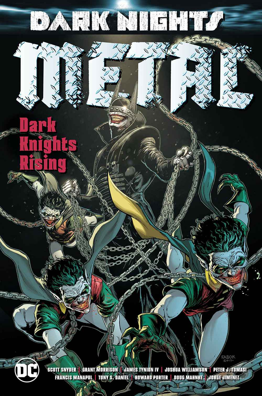 You are currently viewing Comic Book Review – Dark Nights: Metal: Dark Knights Rising