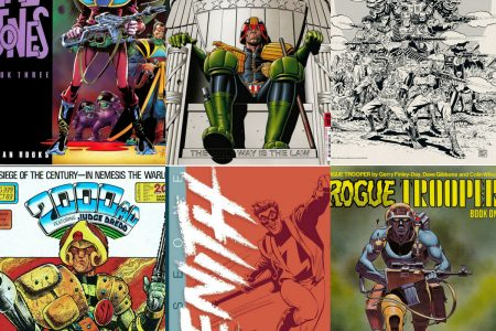My Top Five 2000 AD Characters