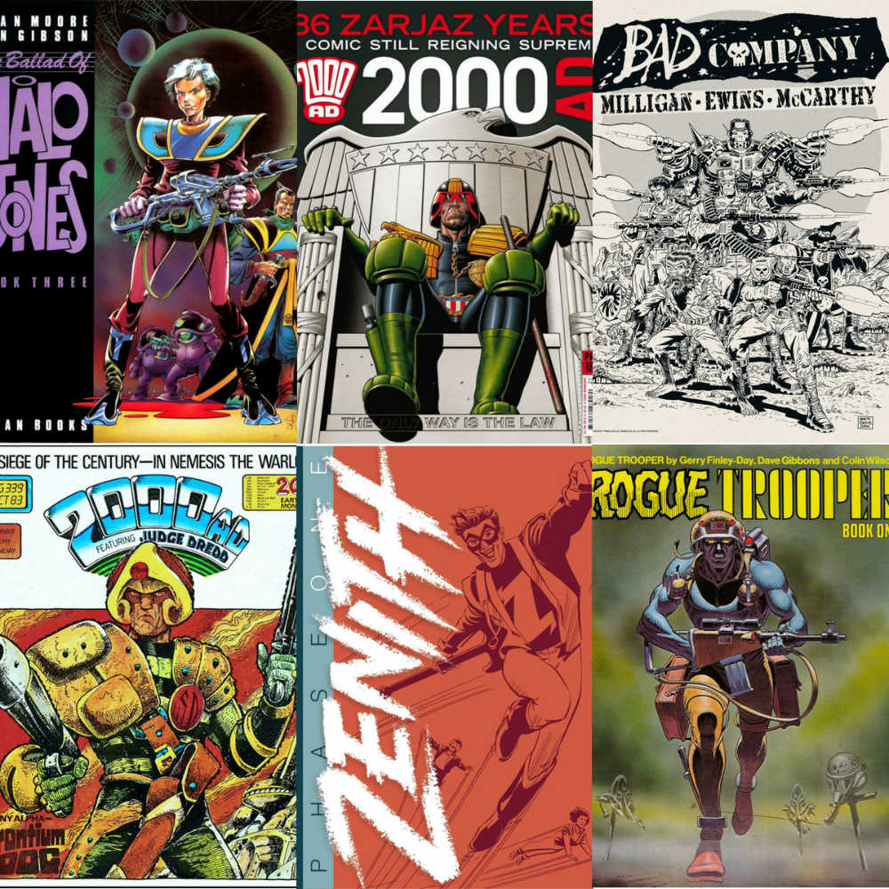 Read more about the article My Top Five 2000 AD Characters