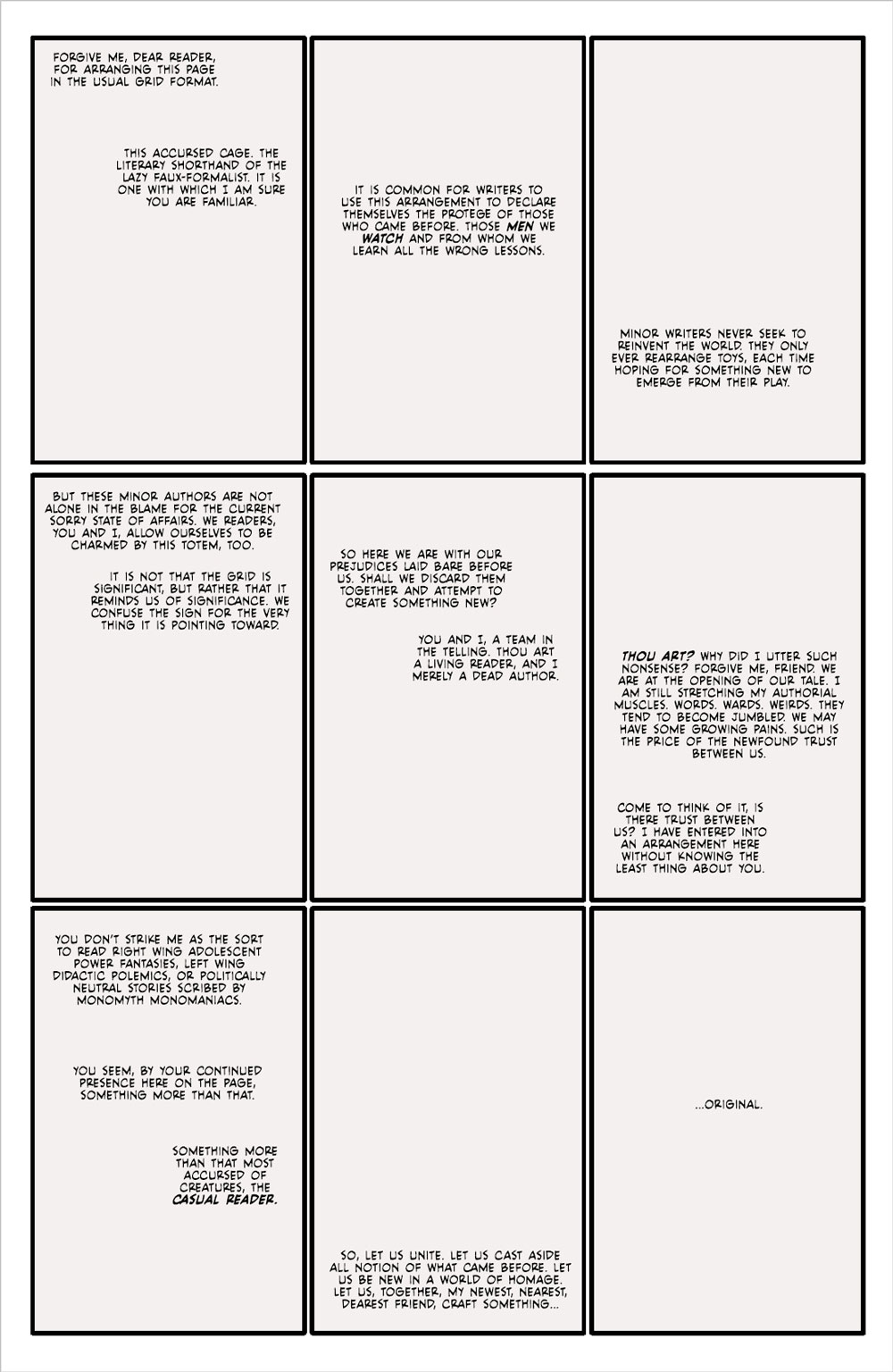 Fearscape #1 page 1