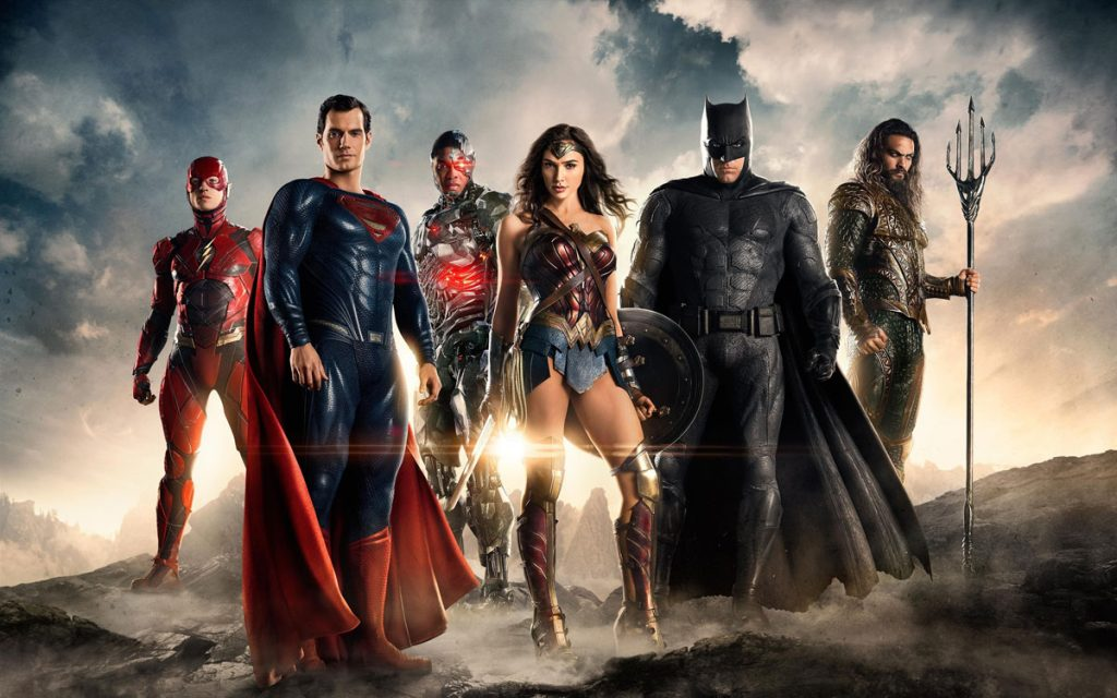 Justice League movie promotional image