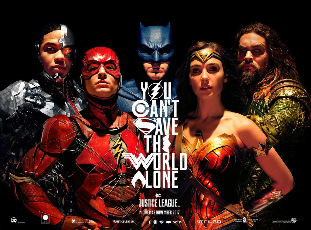 Catch-up Notes On A Film: Justice League