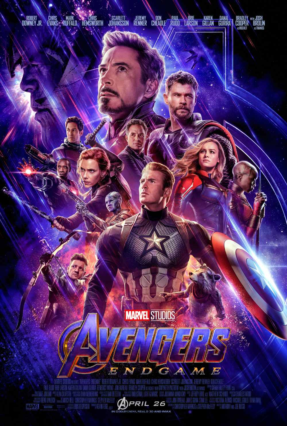 Read more about the article Catch-up Notes On A Film – Avengers: Endgame