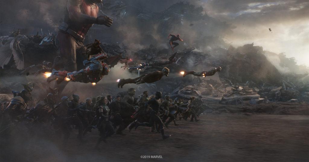 Still image from Avengers: Endgame
