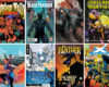 Covers of comic books by Black creators