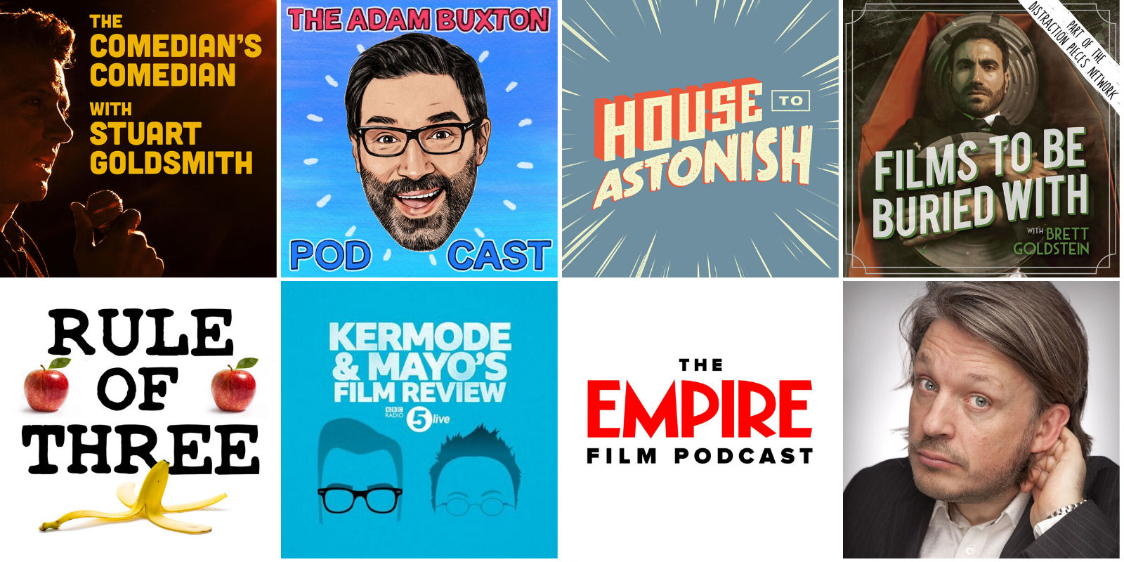Podcasts I Listen To 2020