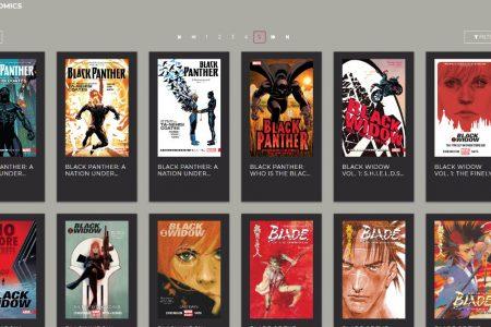 RBdigital Library Comic Book Selection