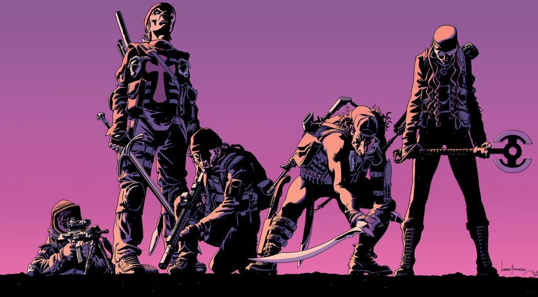 The Old Guard wraparound cover