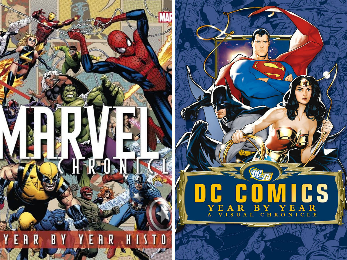 Comparing DC Comics and Marvel Chronicles