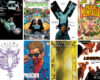 Various Vertigo comic books