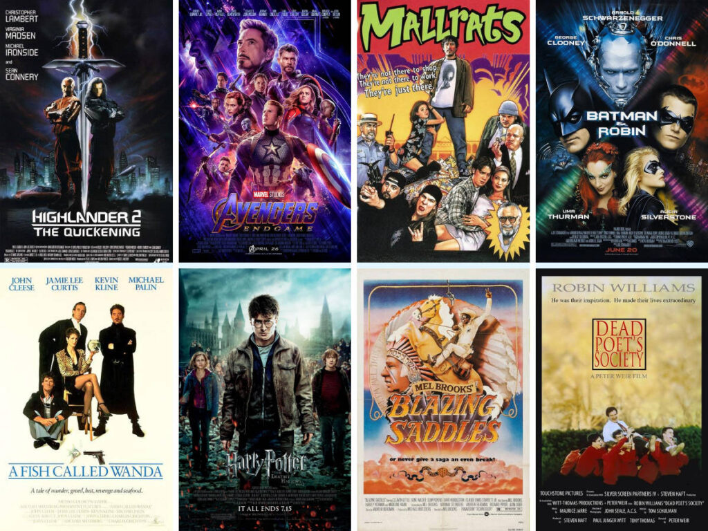 My films to be buried with, part 2