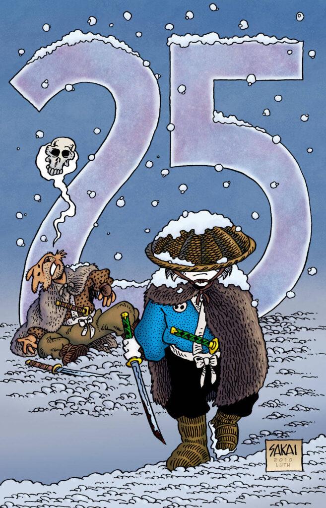 Usagi Yojimbo #136 variant cover by Stan Sakai