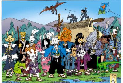 Usagi Yojimbo 25th anniversary poster by Stan Sakai