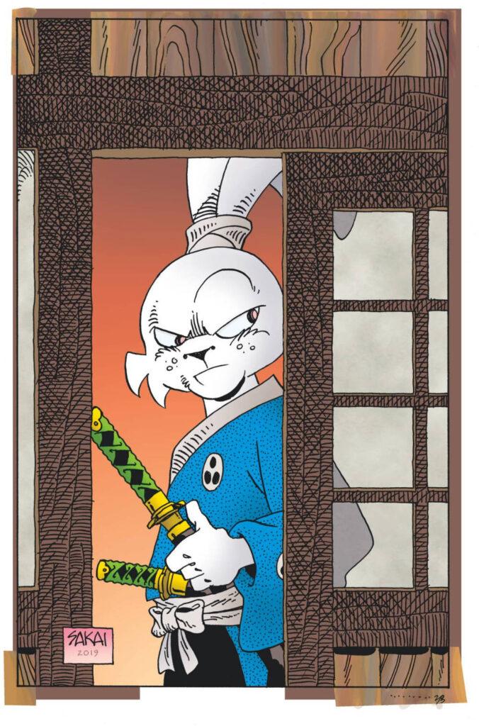 Usagi Yojimbo #6 (2019) cover by Stan Sakai