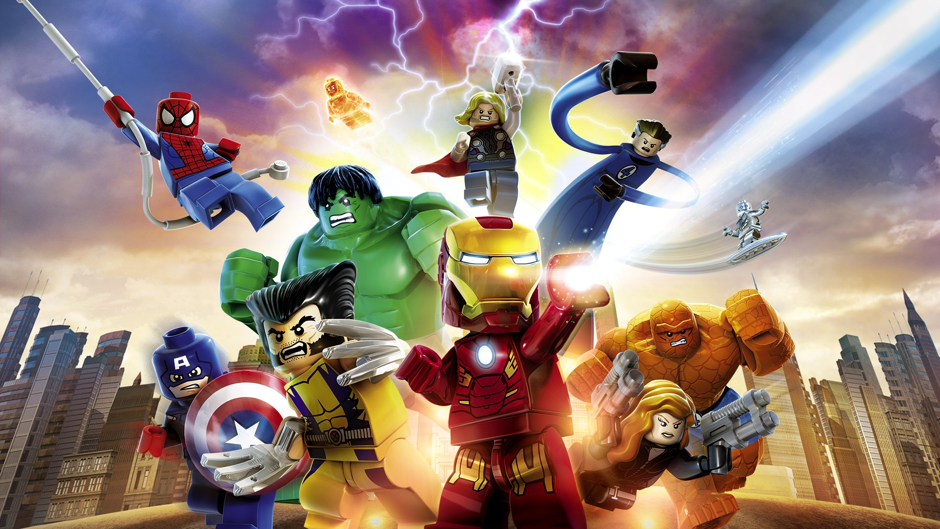 Notes On A Game: Lego Marvel Super Heroes