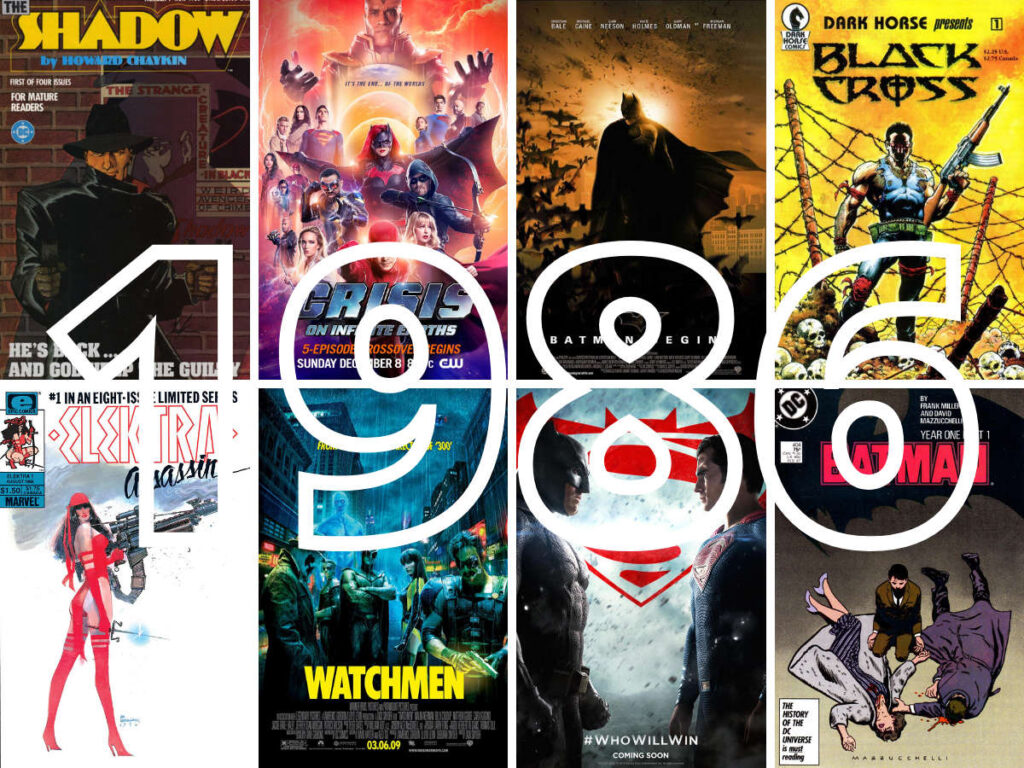 1986: a pivotal year for comic books